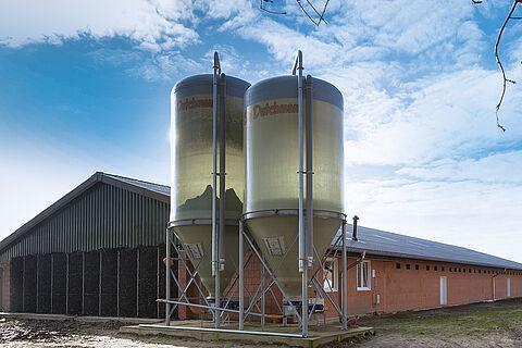 Opbevaring og transport af foder